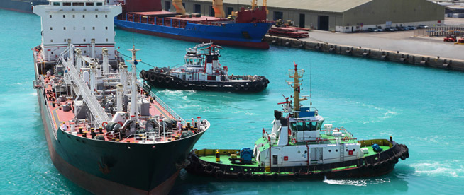 Tug Boats in Action